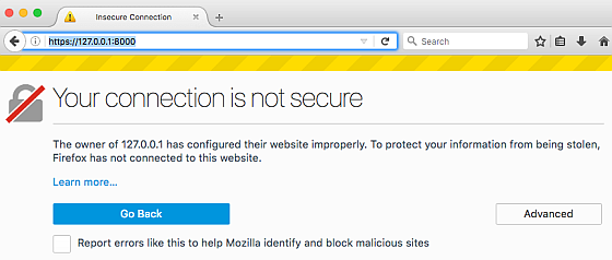 Allowing Self-Signed Certificates on Localhost with Chrome and