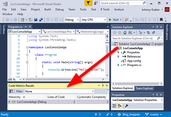 How LOC is computed in SonarQube, NDepend and Visual Studio