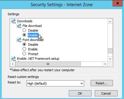 Internet Explorer on Windows Server: Enable File Downloads – Improve