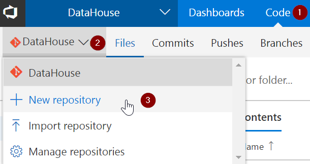 Multiple Git Repositories in your VSTS Project – Improve