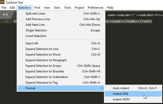 Small Helpers: Indent XML (and JSON) in Sublime Text – Improve & Repeat